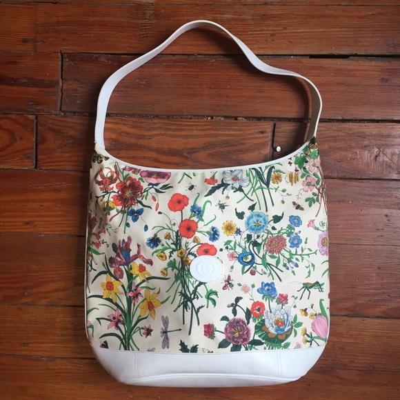 daf92115631d4d Gucci Bags | Authentic Vintage Accornero Floral Purse | Poshmark